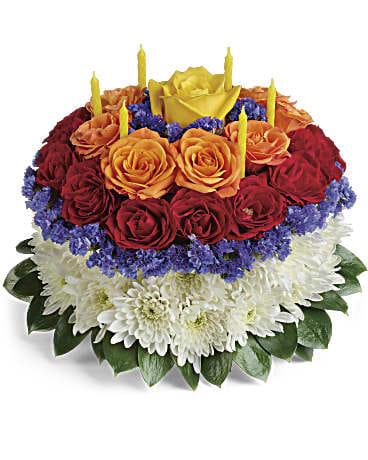 Teleflora Your Wish Is Granted Birthday Cake