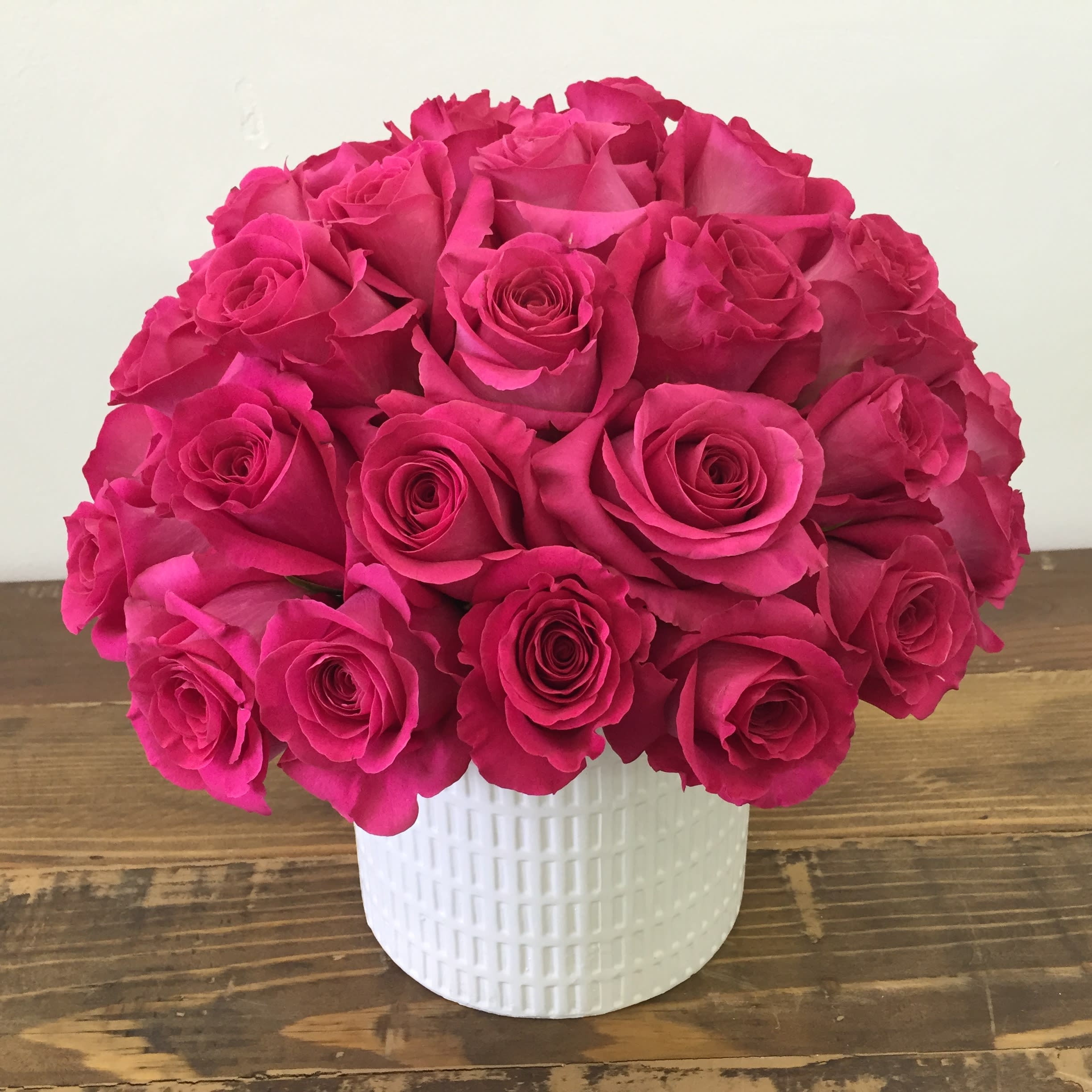 4 Dozen Magnificent Pink Roses By Be A Tall Poppy
