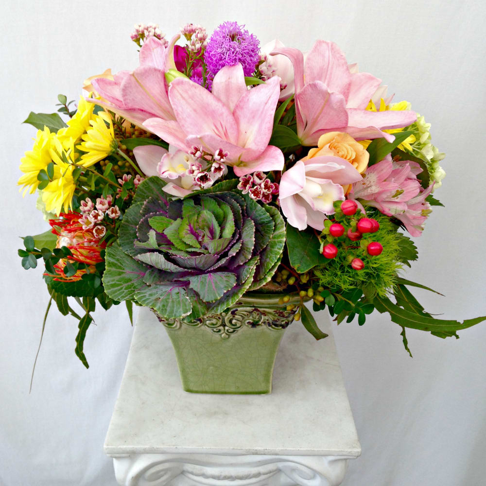 The Blake Artisan Spring Mix Of Colorful Blooms Fresh Fabulous