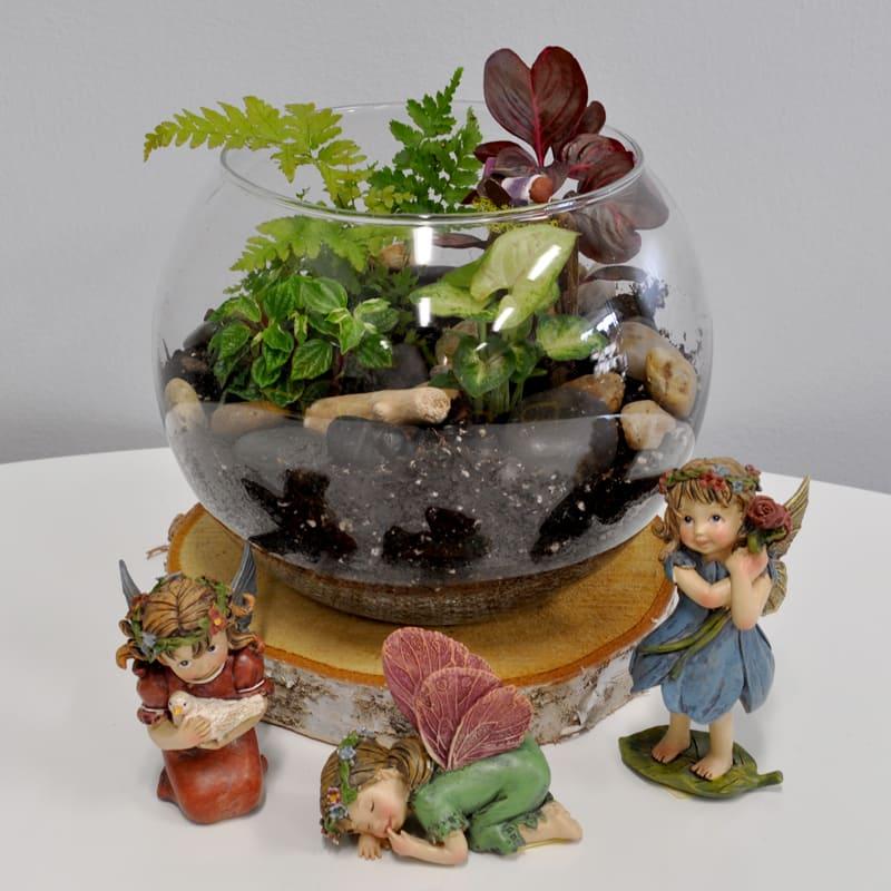 "Magical Fairy Garden Designs: K406 Kiko's 8"" Fairy Garden In Park Ridge, IL"