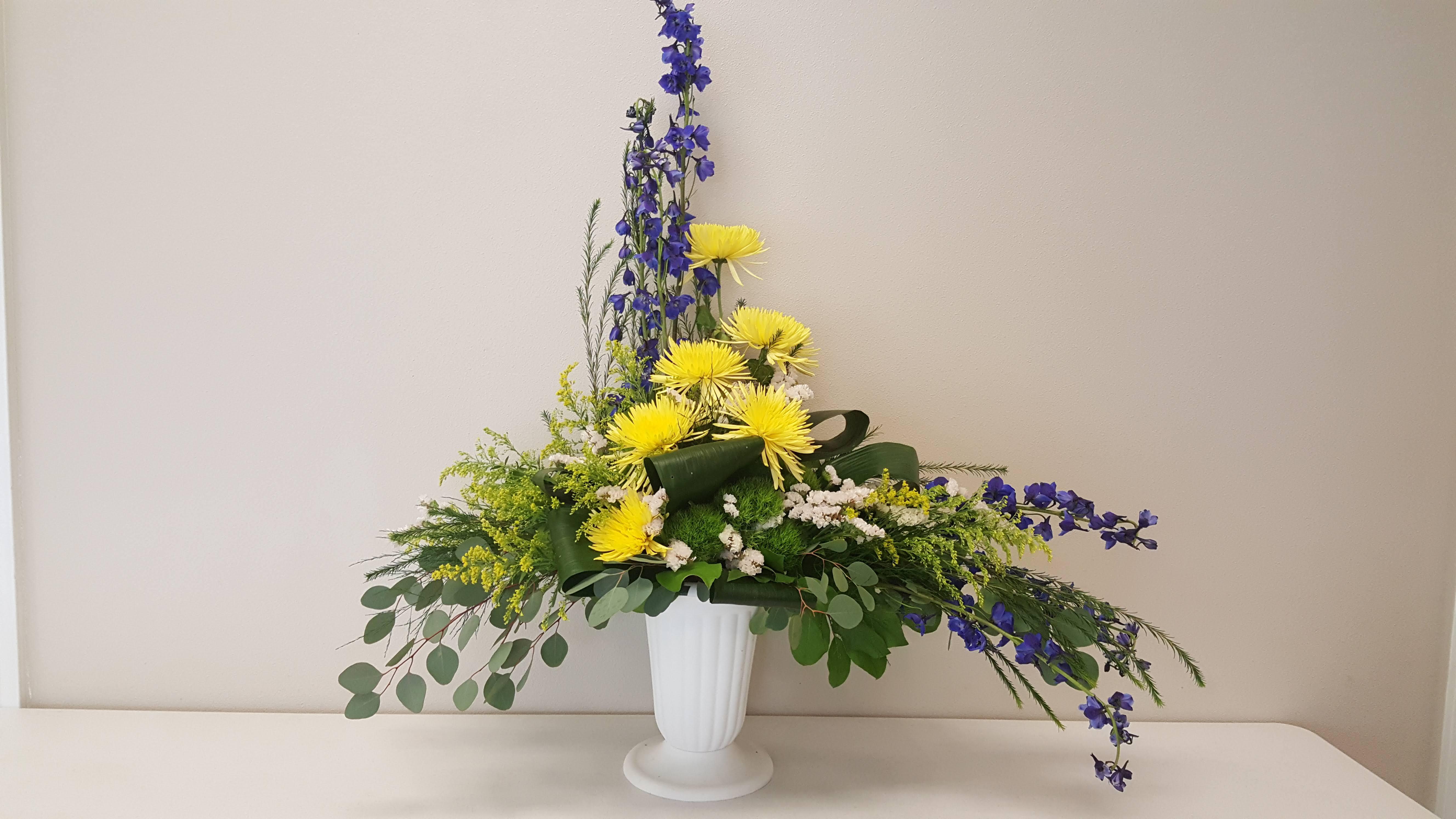 In Loving Memory Flower Arrangement In Olympia Wa Specialty
