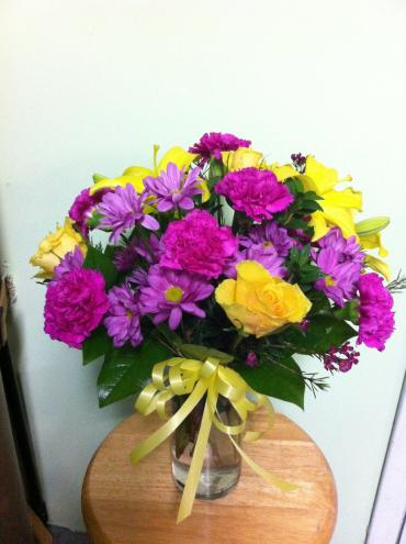 Color Me Purple By Green S Flowers And Gifts