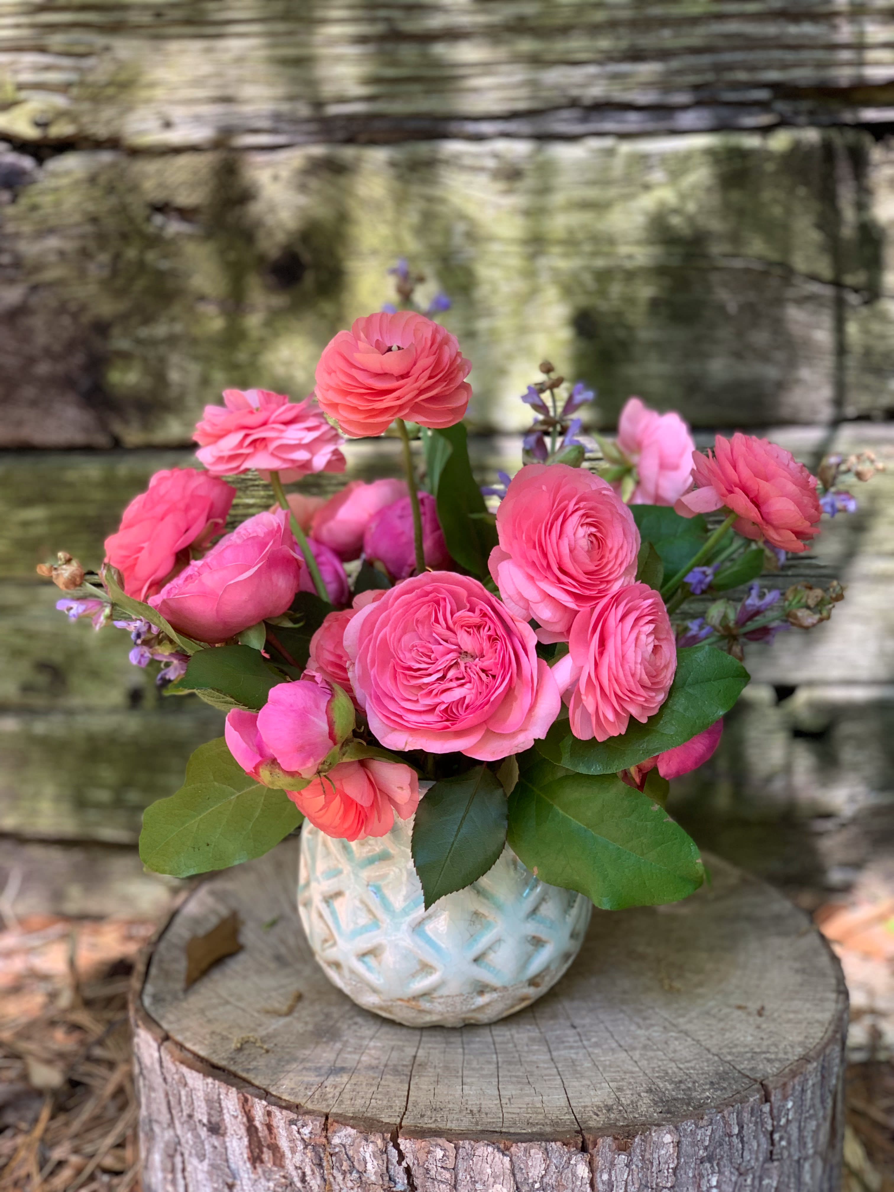 Delicieux Garden Rose, Peony And Ranunculus Love