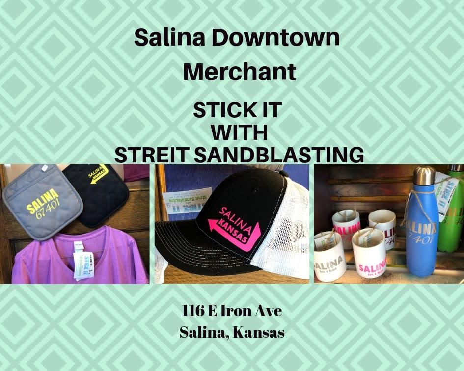 Stick it with Streit Sandblasting in Salina, KS | The Flower Nook