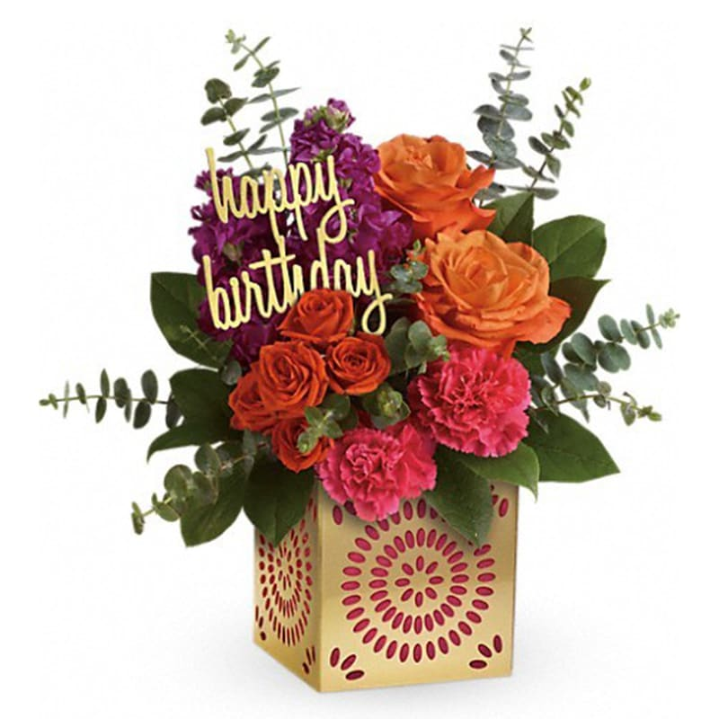 Telefloras Birthday Sparkle Bouquet