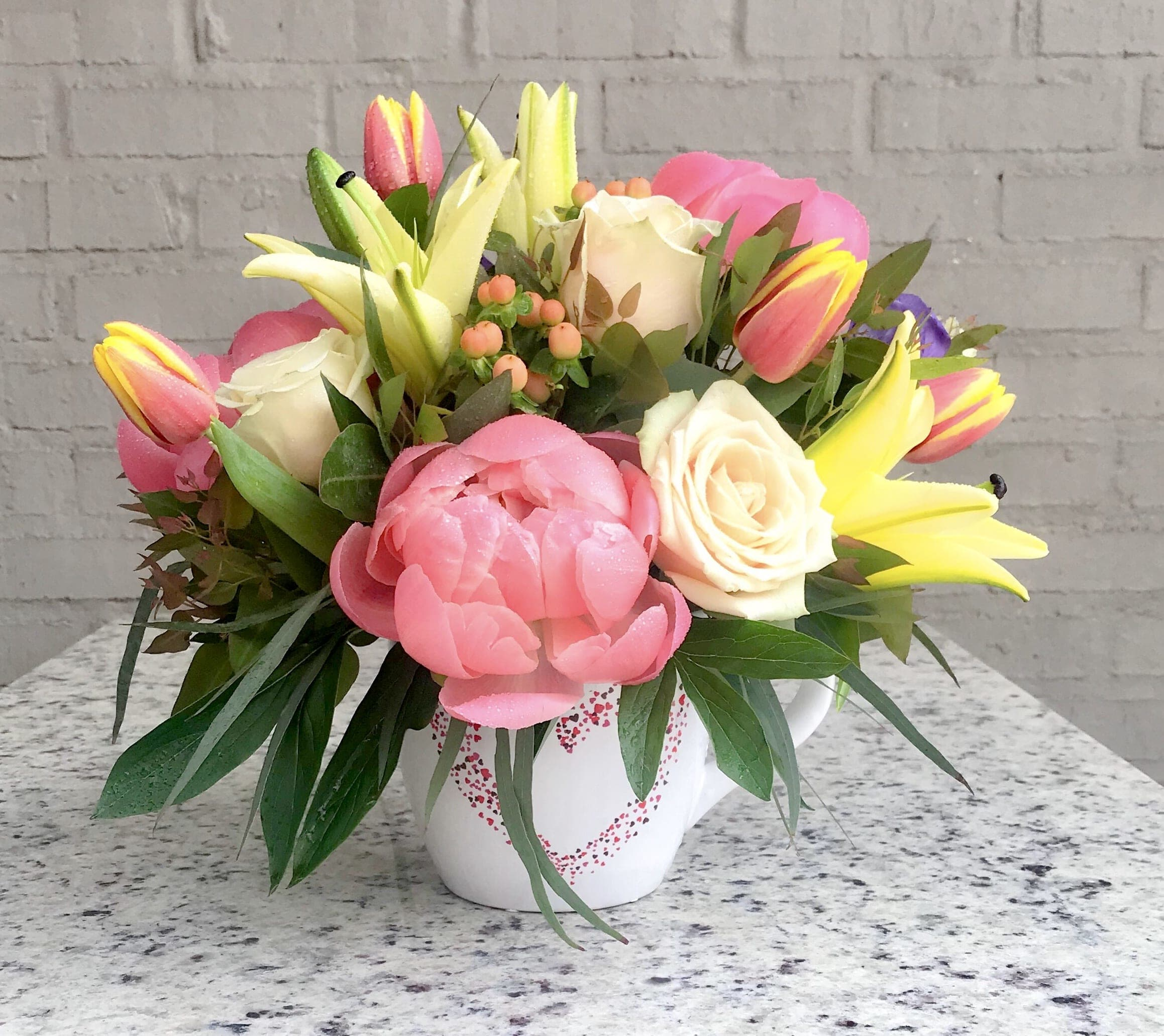Love Mug By Lotus Flower Shop