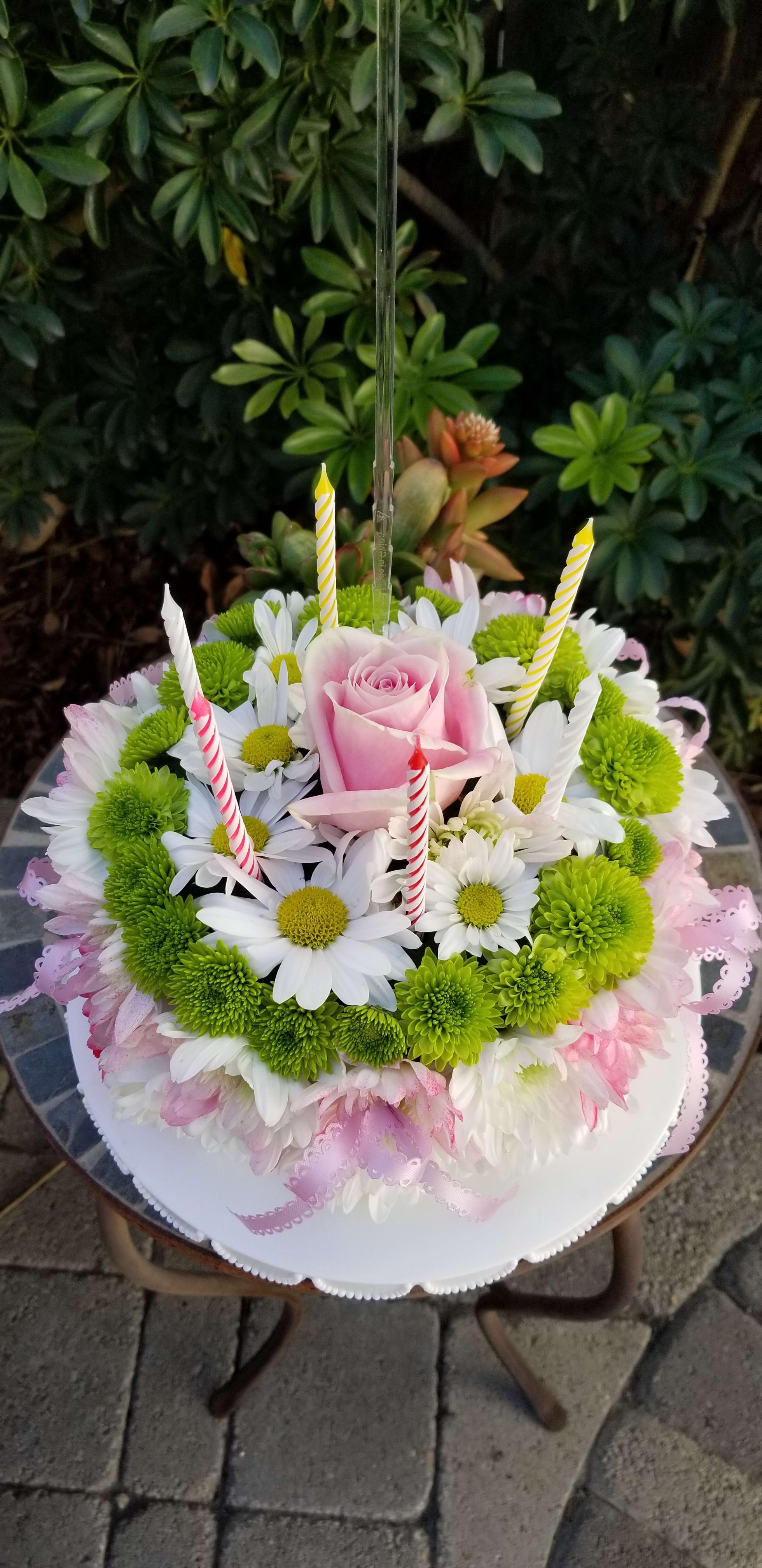 Flower Cake In Cerritos CA
