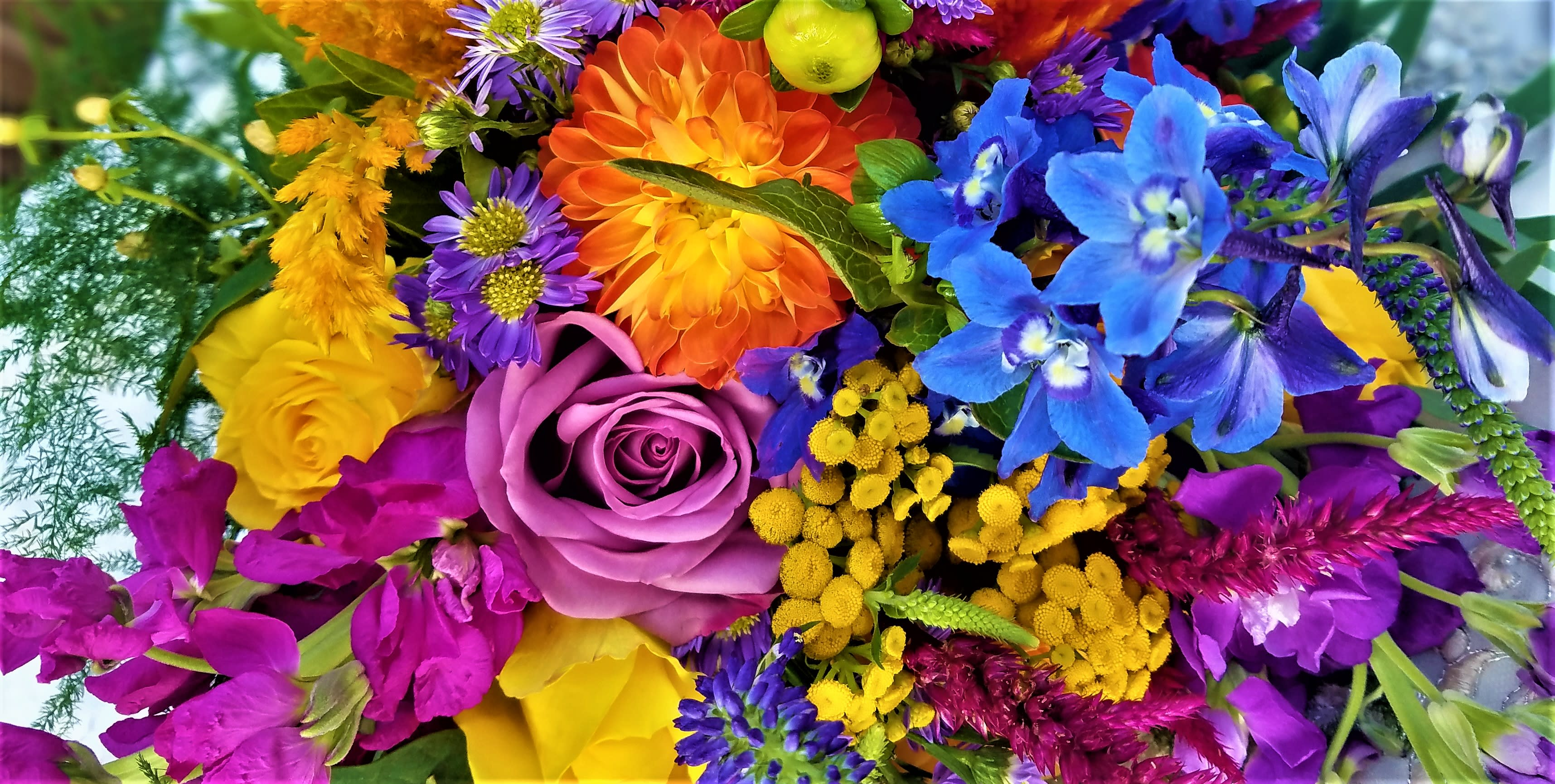 Designers Choice Blooming Bouquets In New Castle Pa Butterfly Wish Bouquets