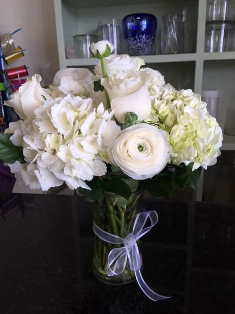 Hydrangea Roses And Ranunculus In Southampton Ny Dutch