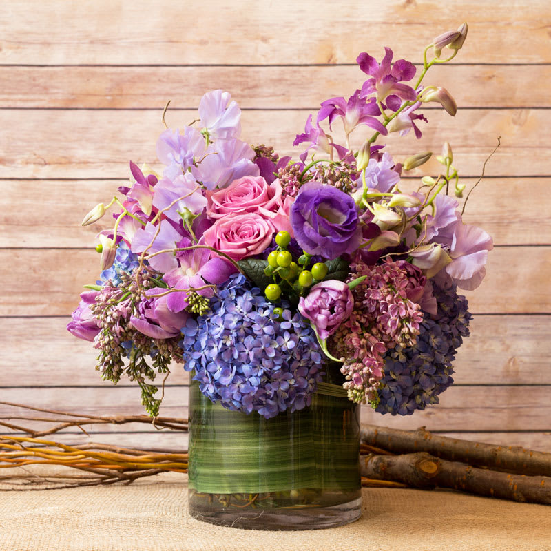 LUSH LAVENDER MIX in New York, NY | Flowers by Philip
