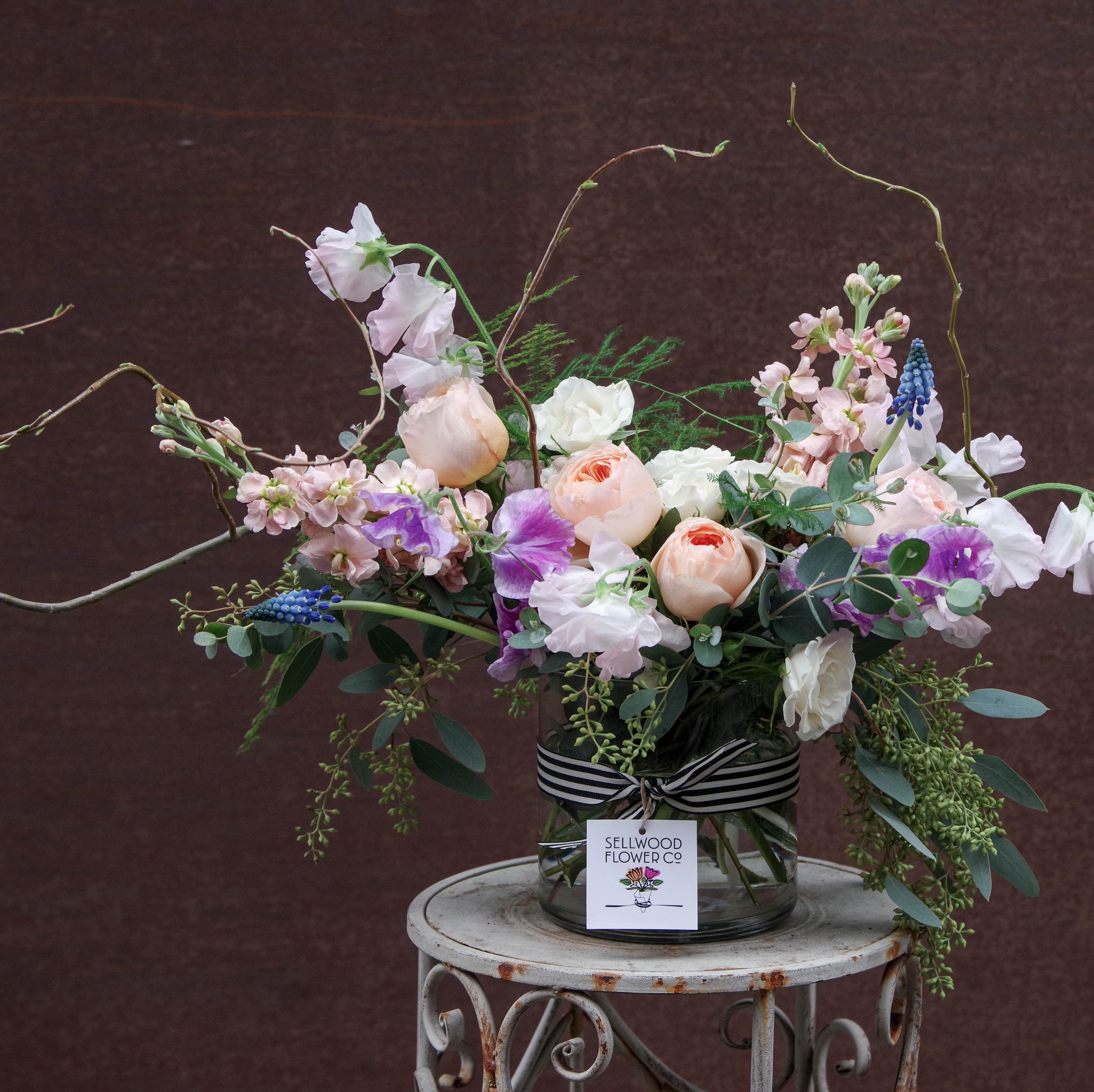 Jardin Romantique in Portland, OR | Sellwood Flower Company