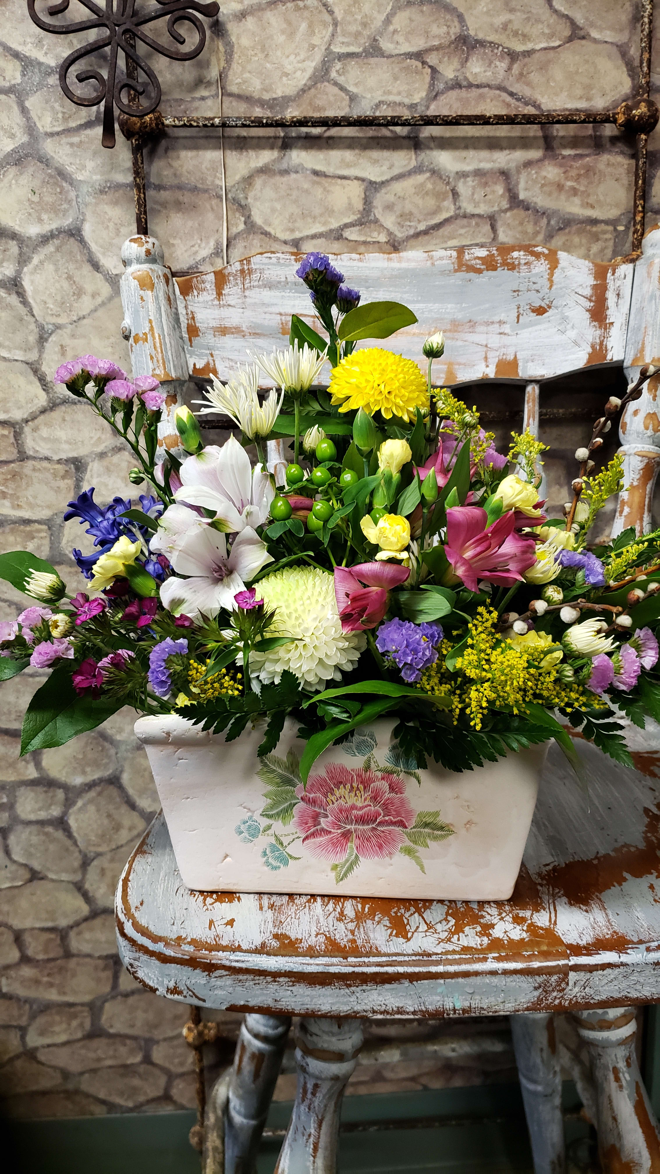 English Garden Pottery In Beverly Ma Carroll S Florist