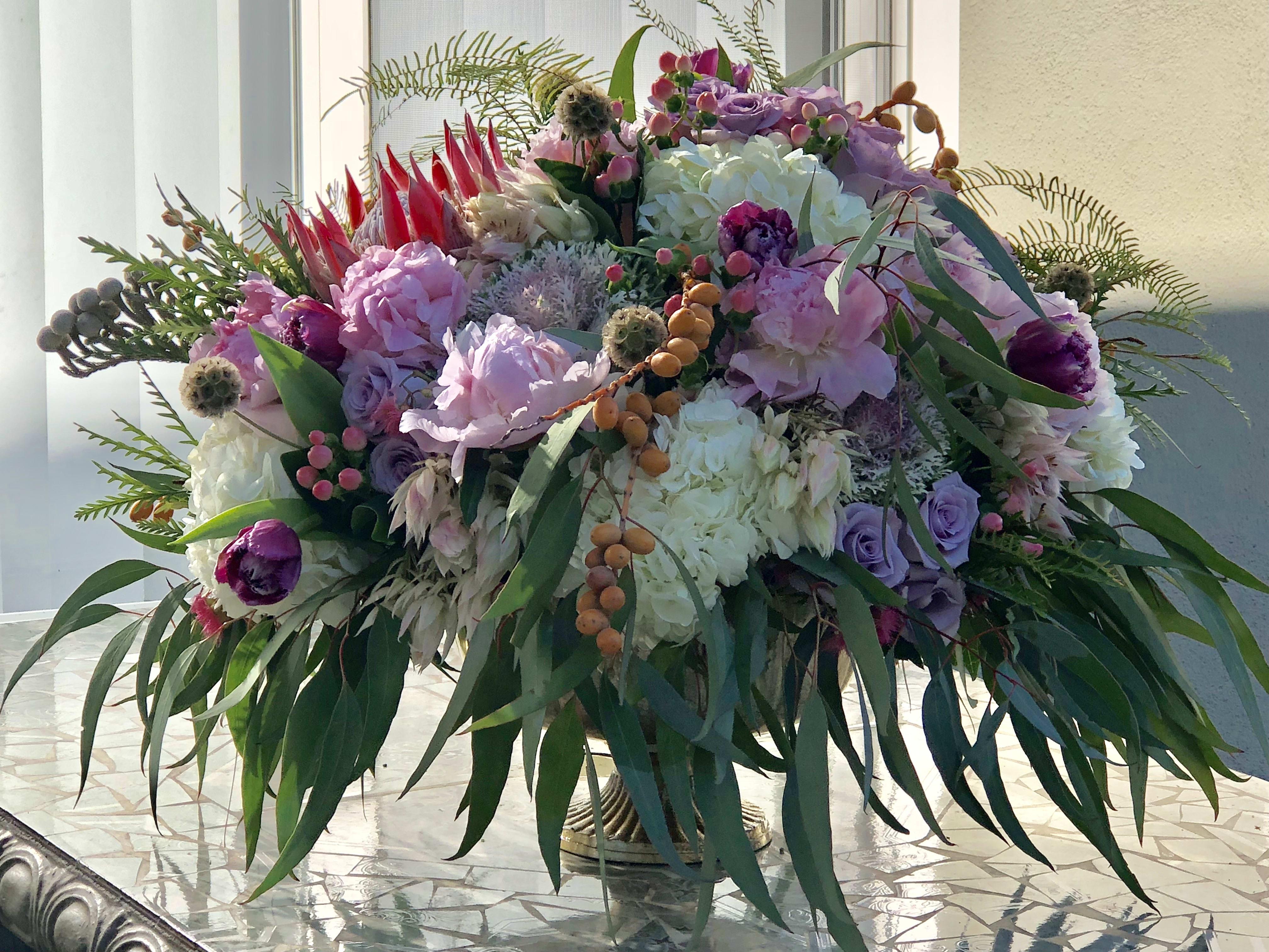 King Protea Flower Bouquet