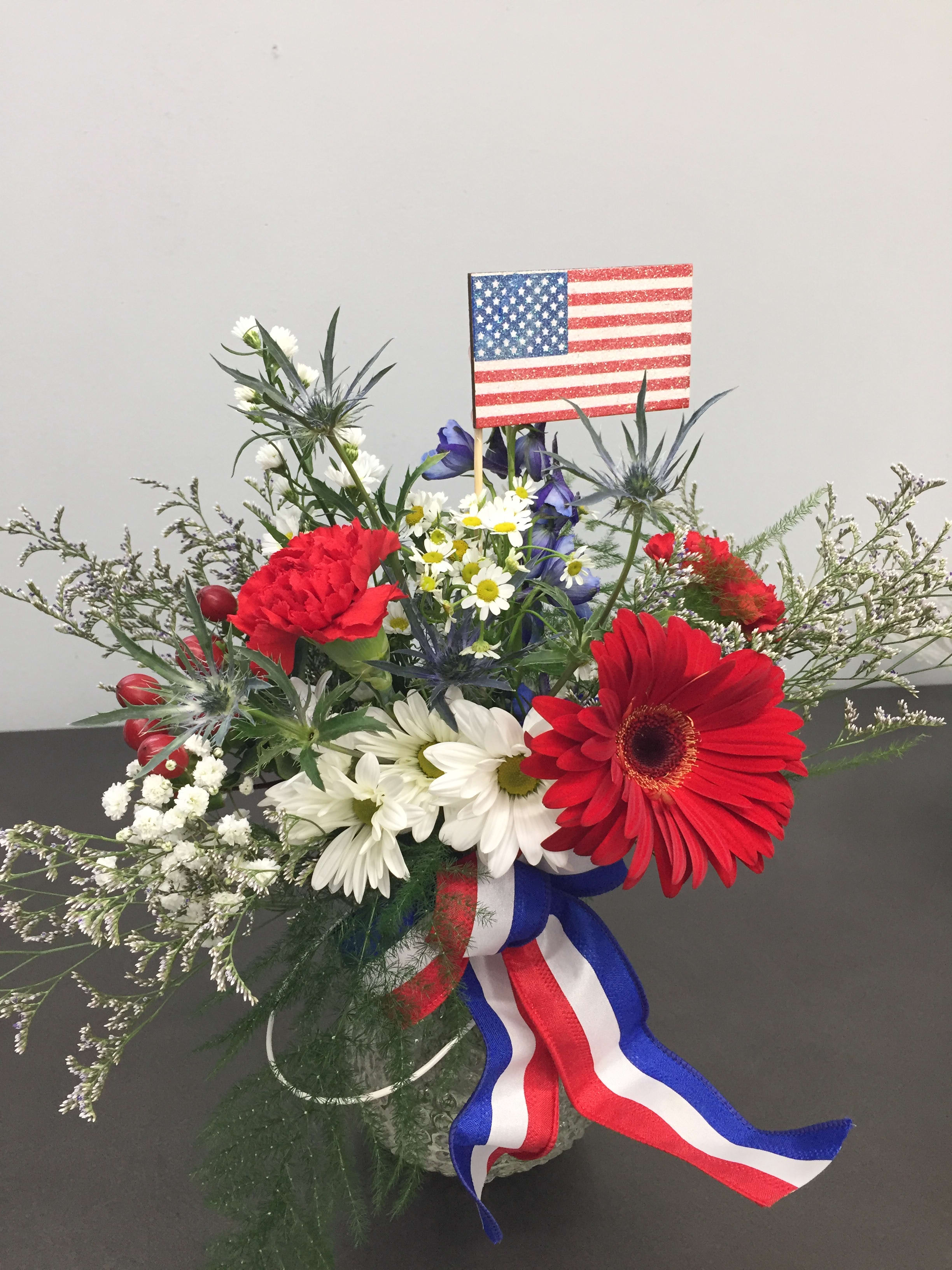 0a42b6dc3ae0 Fireworks - Red White and Blue in Troy, MO | Troy Flower Shop