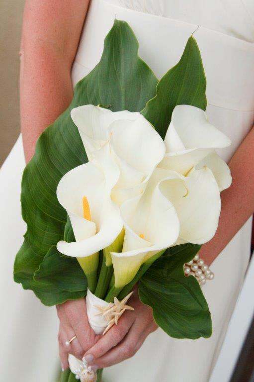 Bride Bouquet White Calla Lily In Castle Rock Co Sander Ranch