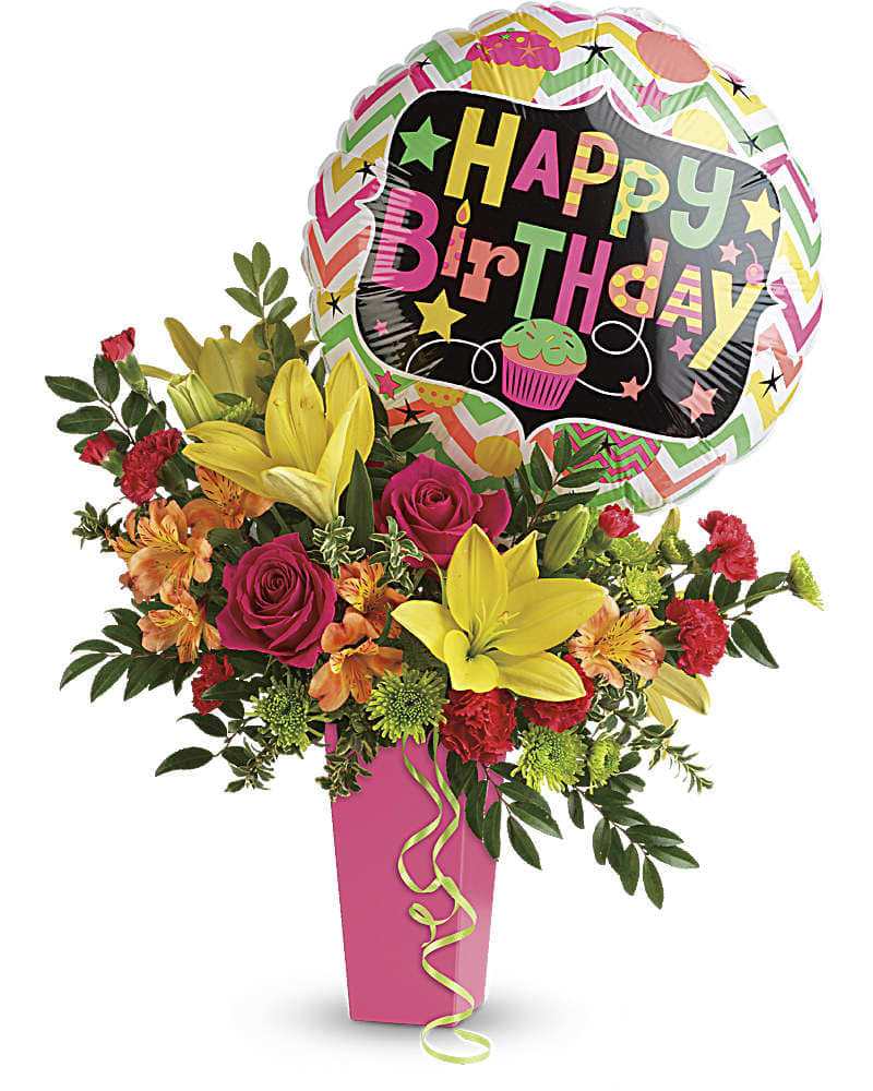 Birthday Bash Bouquet in Red Bluff, CA | Westside Flowers & Gifts