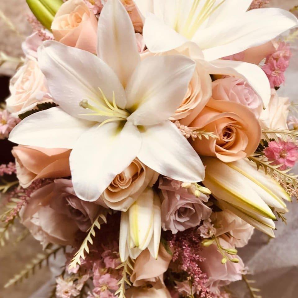 Rose Gold Flower Bouquet 58 Off Awi Com