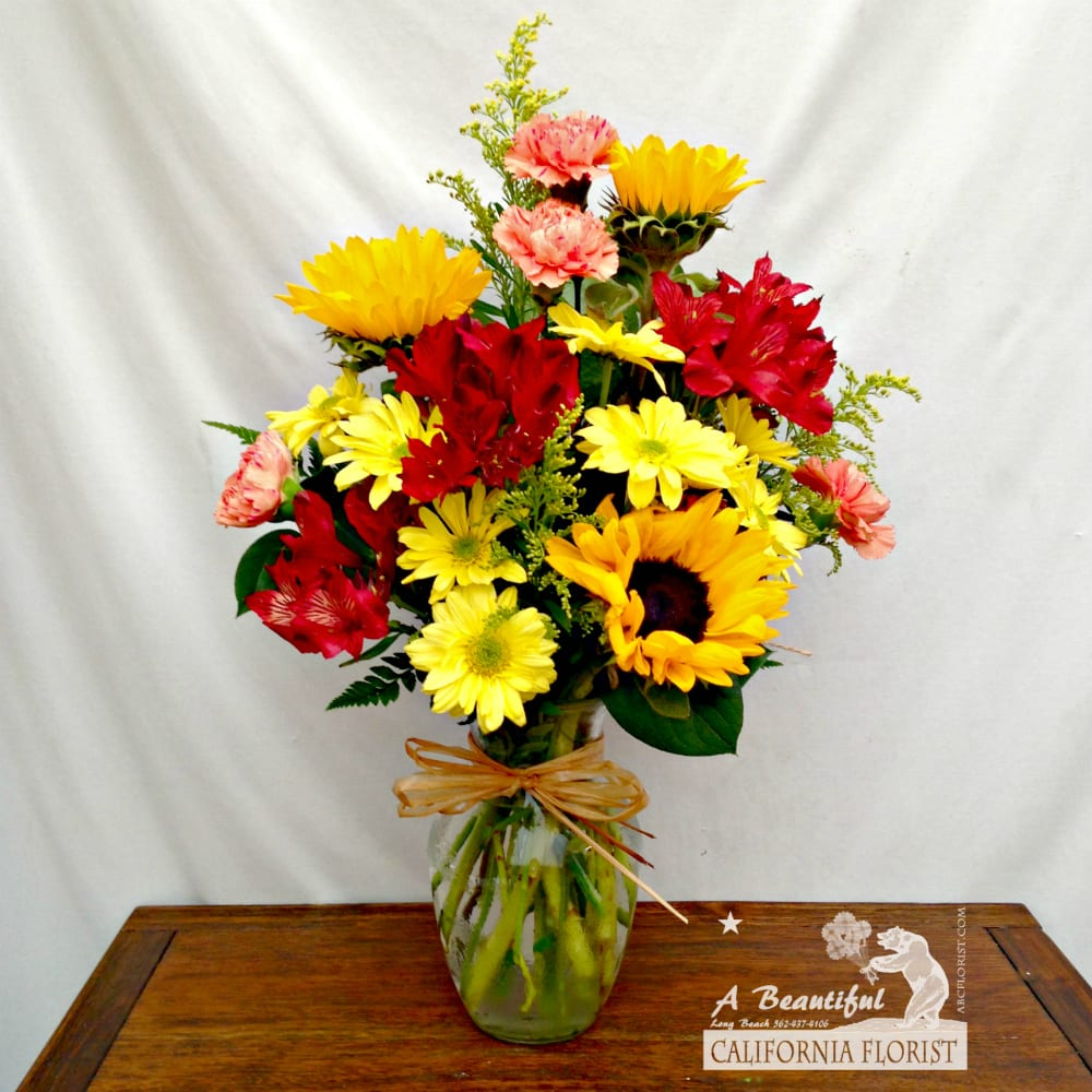 Summertime The Livin Is Easy By A Beautiful California Florist