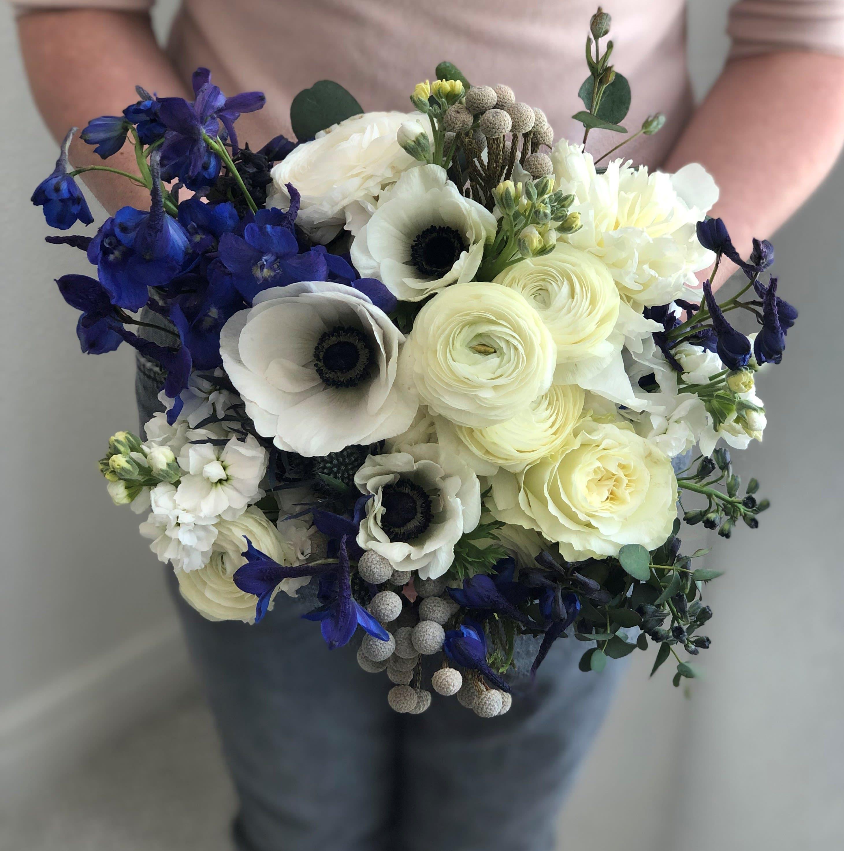 Panda Anemone Bouquet