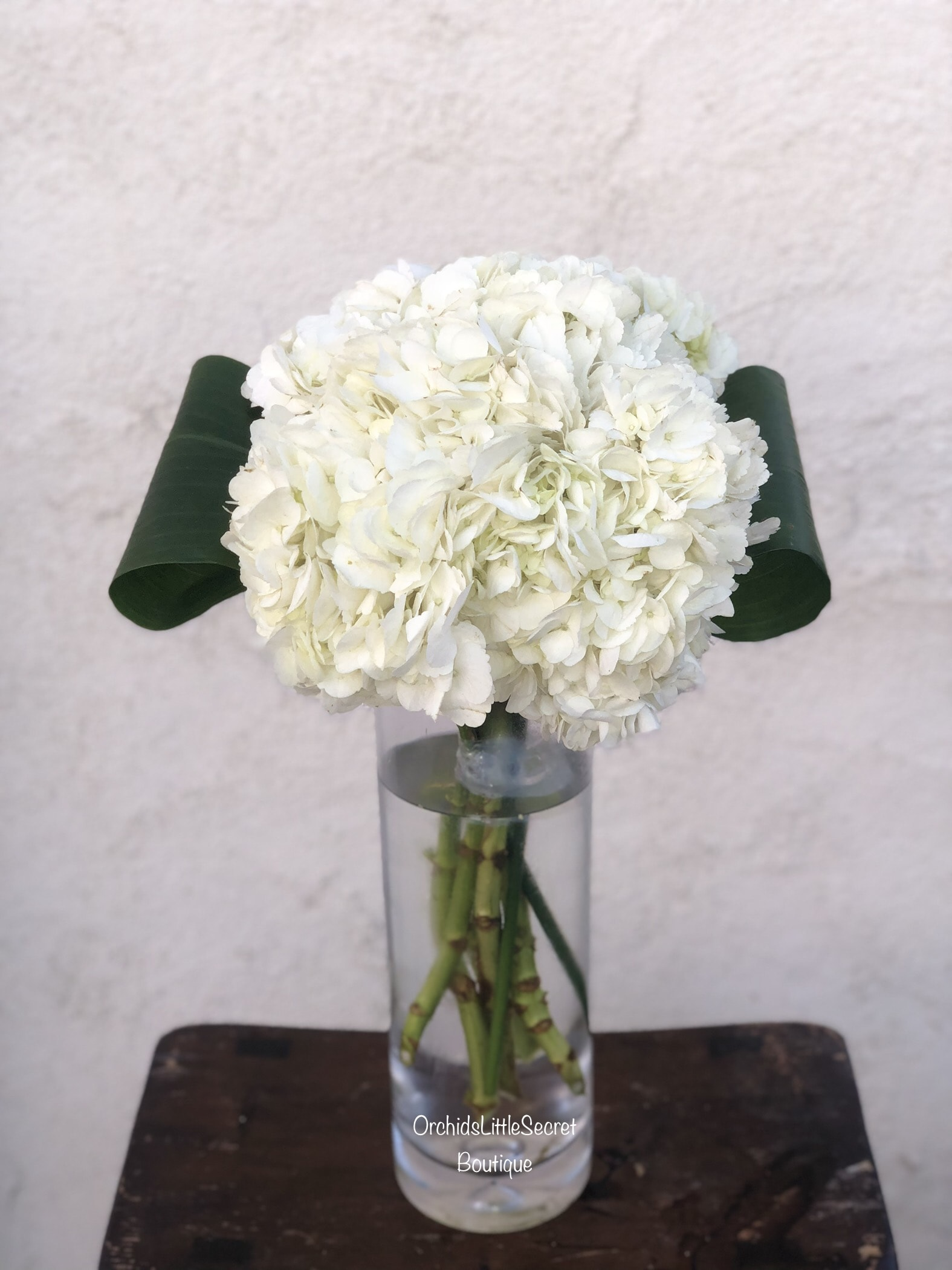 Luxury Hydrangea Bouquet In Placentia Ca Orchids Little Secret