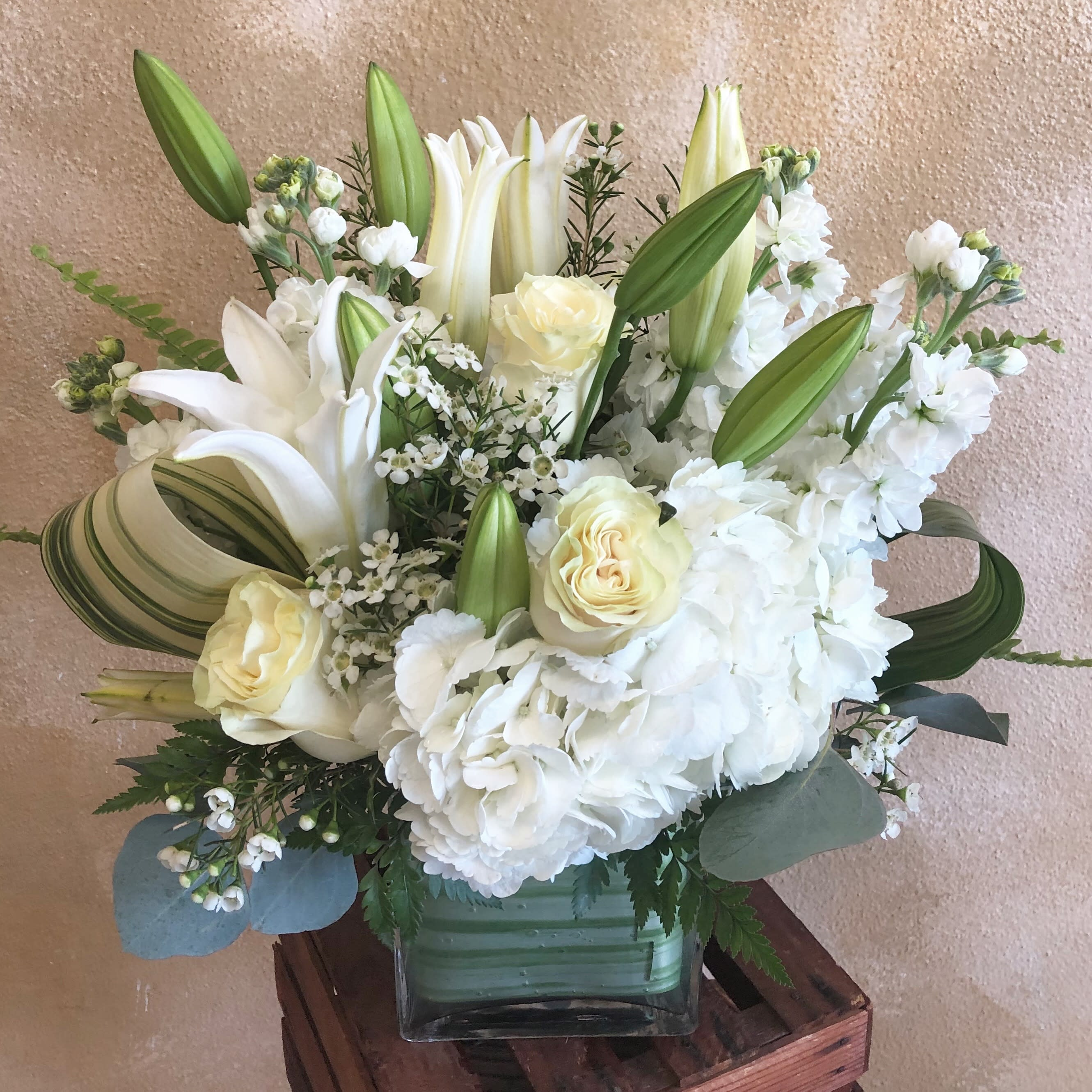 Pure Heart By Ruth Messmer Florist By Ruth Messmer Florist