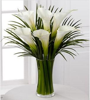 Endless Elegance Calla Lily Bouquet In Boca Raton Fl