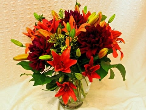 Treasure W128 San Francisco Flower Delivery Fall Season By