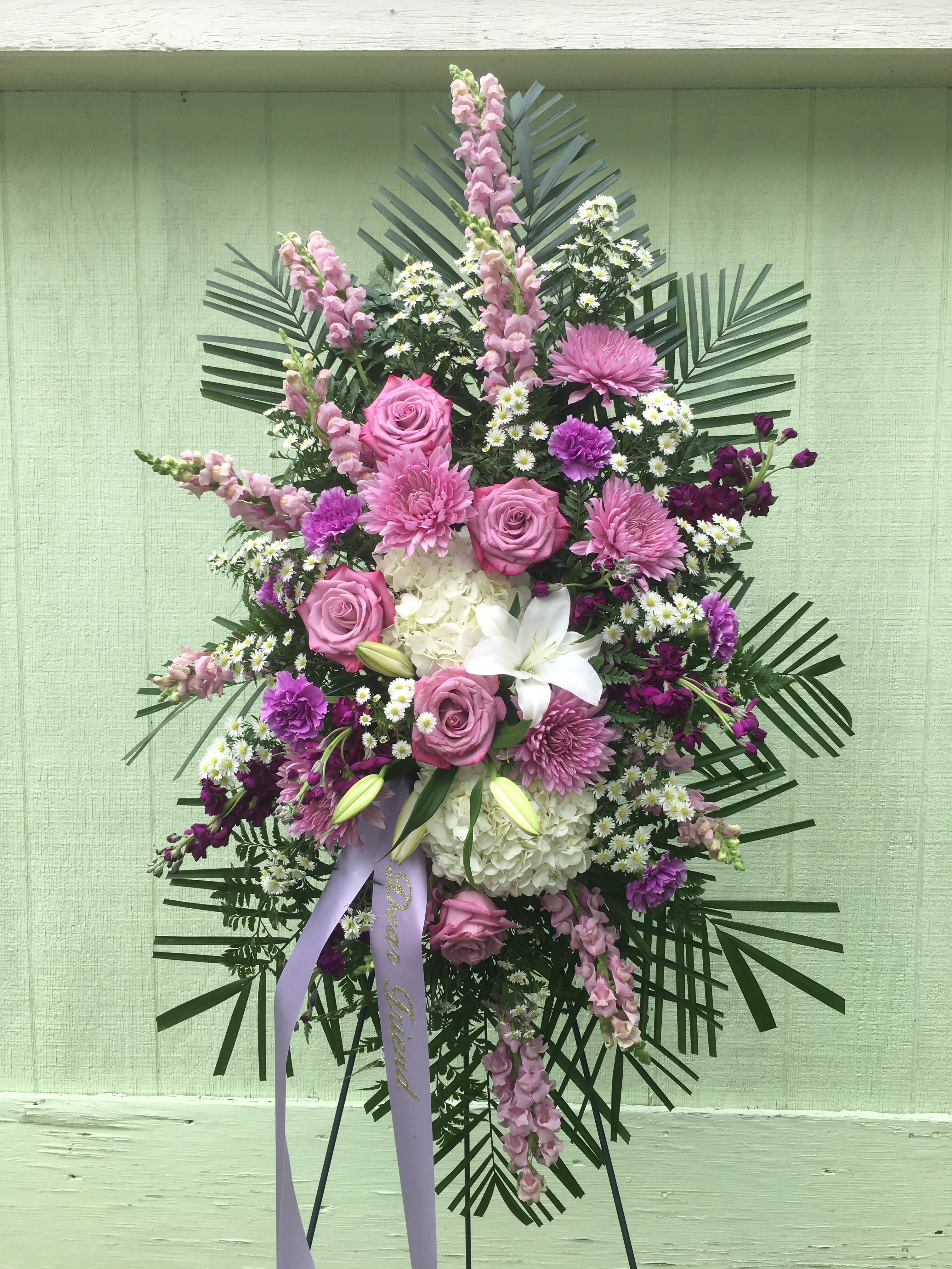 Lavender Solice In Patchogue Ny Tall Tree Floral Designs