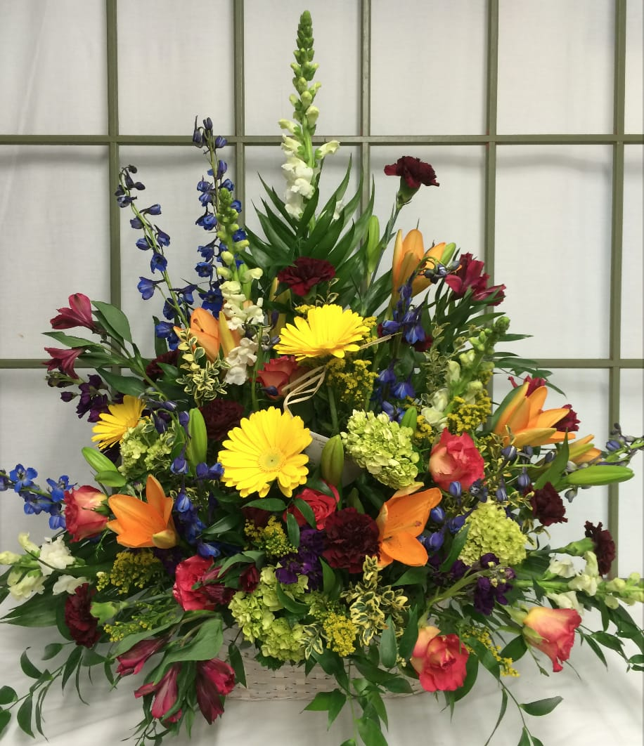 Classic Color Wheel Sympathy Floral In Saint Charles Mo