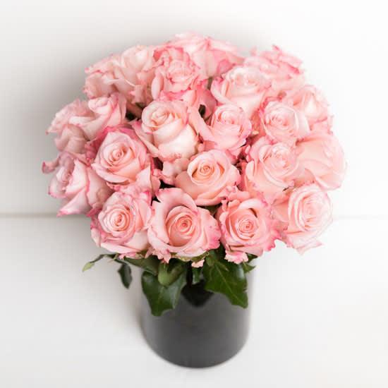 Brigitte , Pink Roses Bouquet by Ode à la Rose