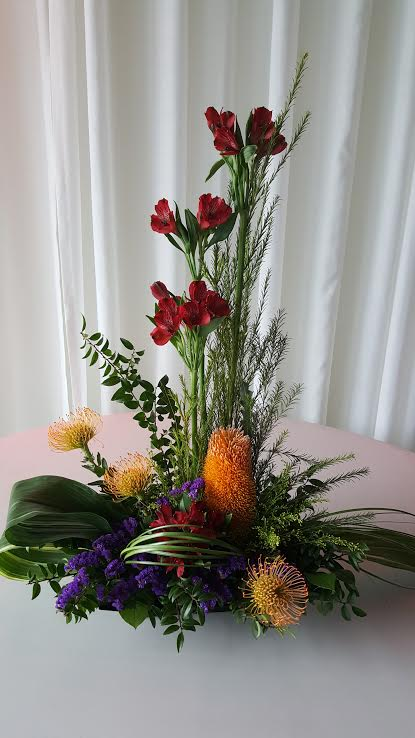 Tropical Bliss Flower Arrangement In Olympia Wa Specialty