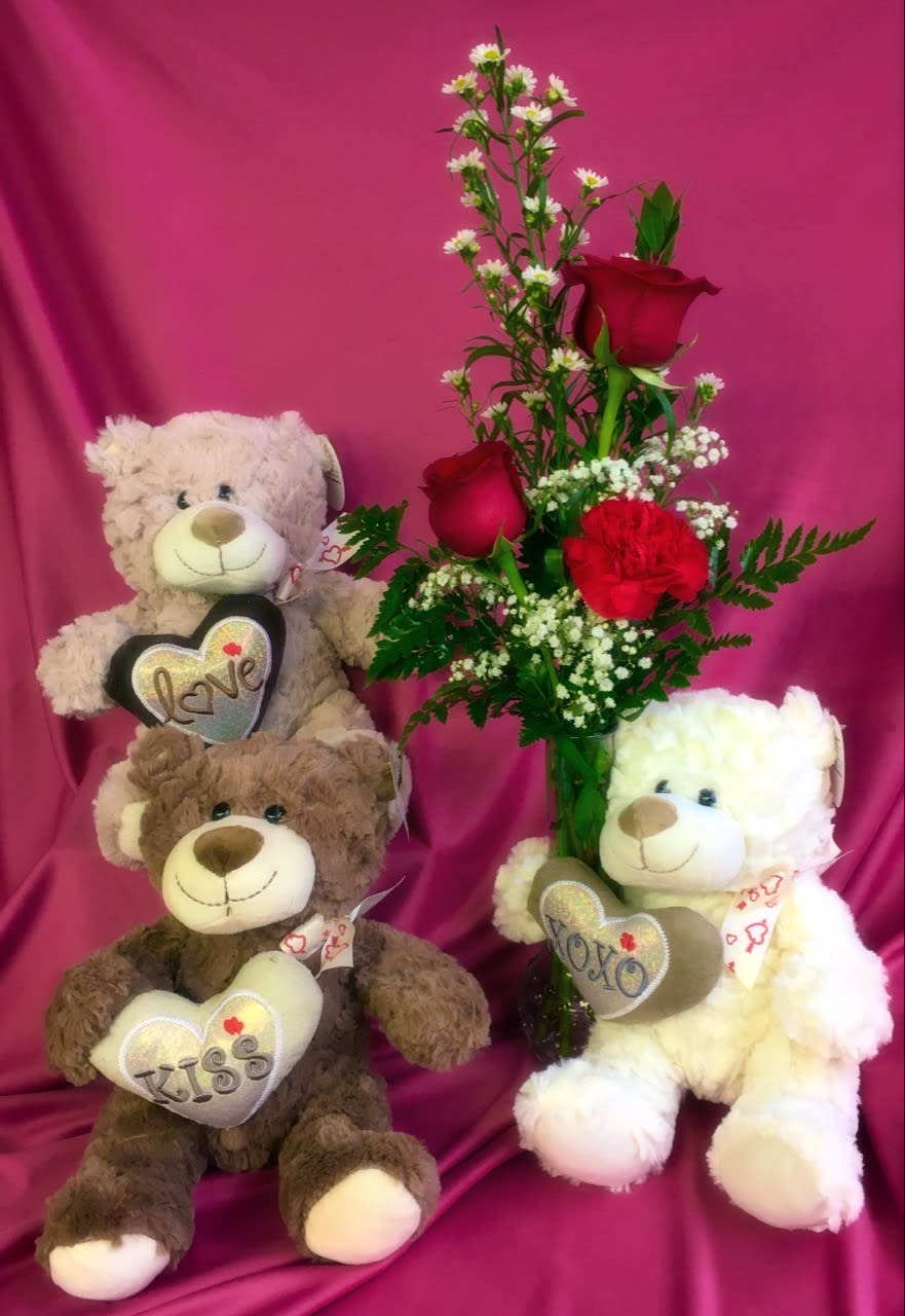 I Love U Beary Much In Perryville Mo Moonier Florist