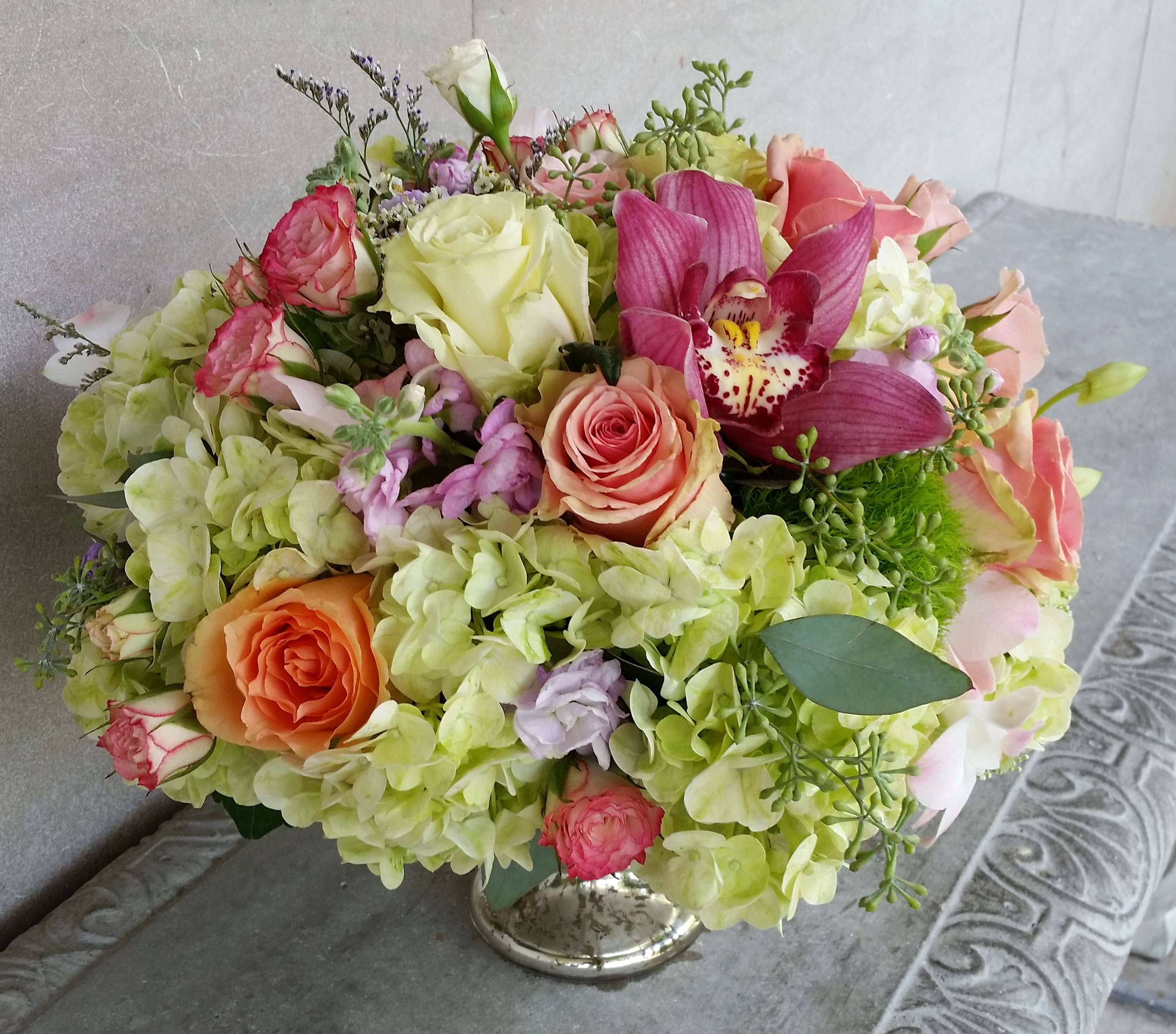 English Garden Bowl By Mille Fleurs Miami