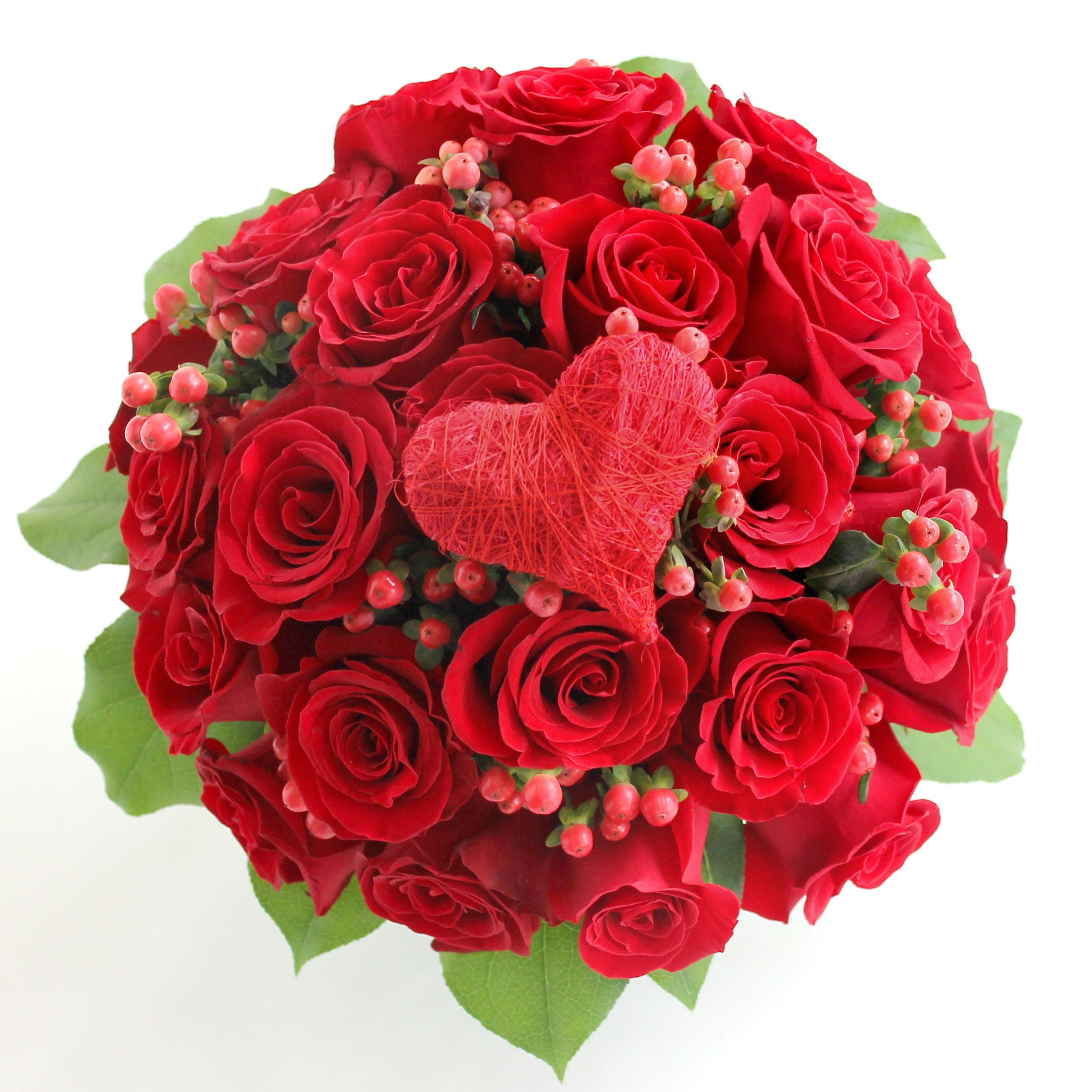 True Love Rose Bouquet by BowKay.com