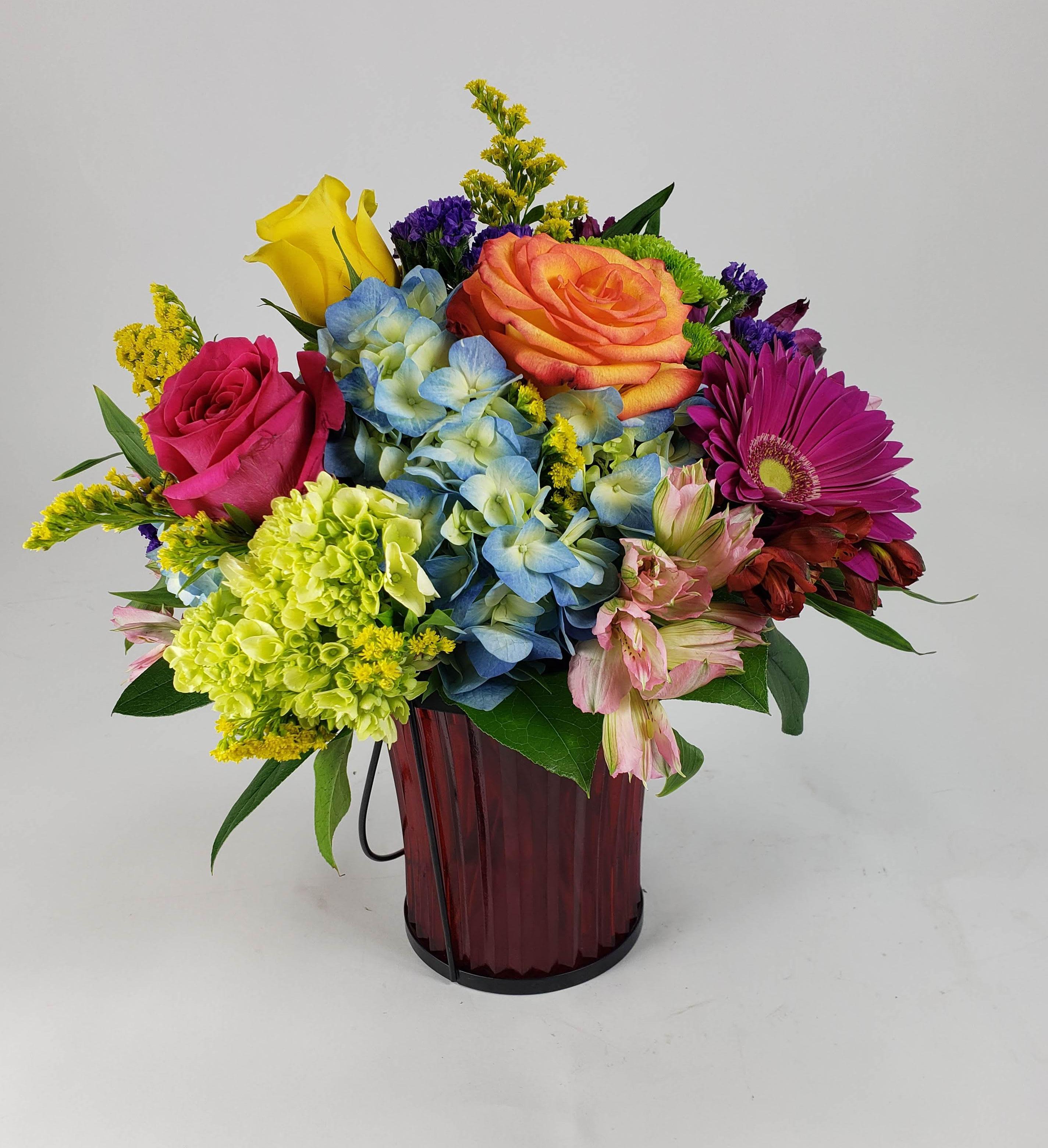 Color Wheel By Matlack Florist