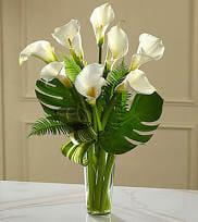 Calla Lily Arrangement In Brooklyn Ny Flowers By Emil