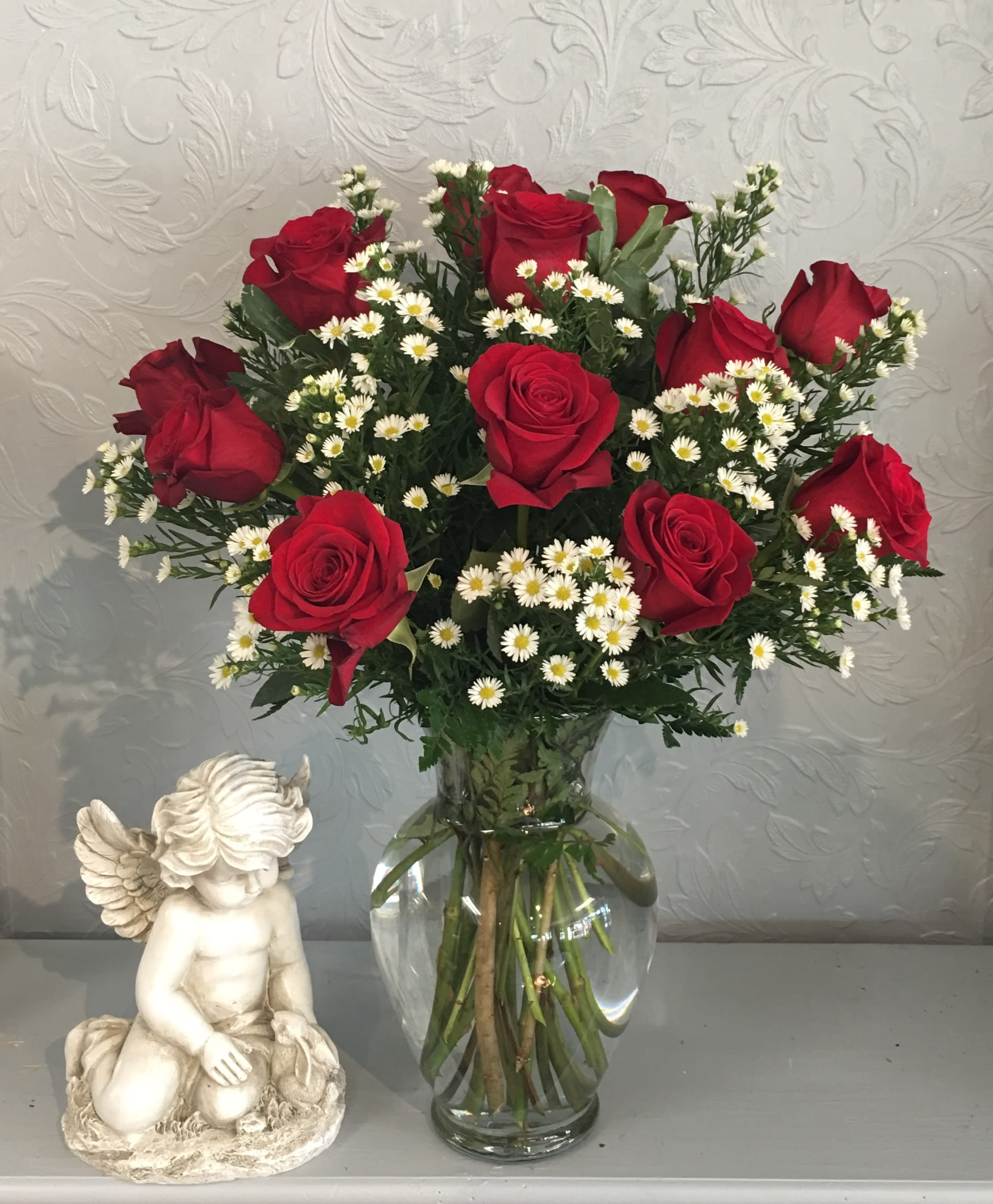 Valentine Rose Bouquet In Patchogue Ny Tall Tree Floral Designs
