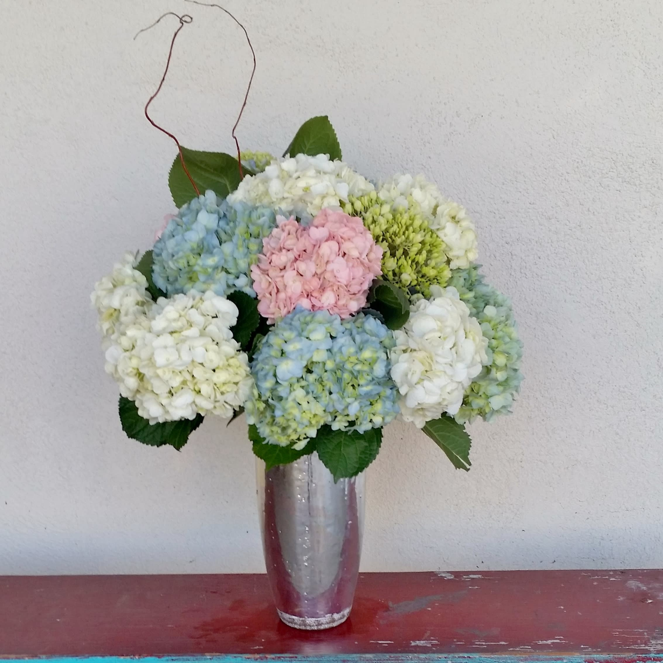 Lf26 Elegant Hydrangea Bouquet In Lake Forest Ca Lake Forest