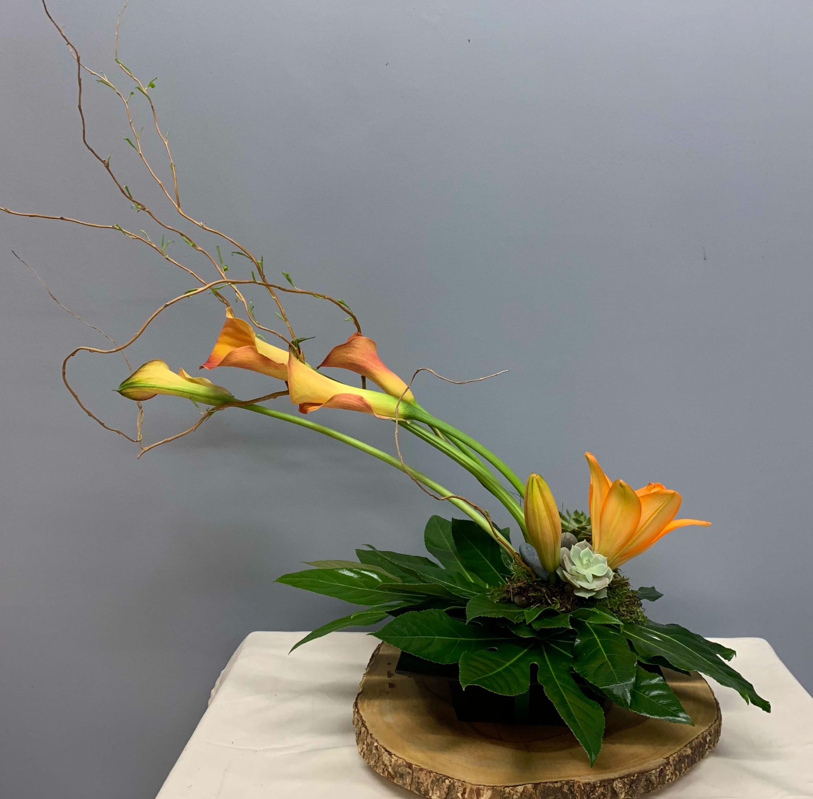 Sunset Mini Calla Lilies Sf300 In Claremont Ca Sherwood