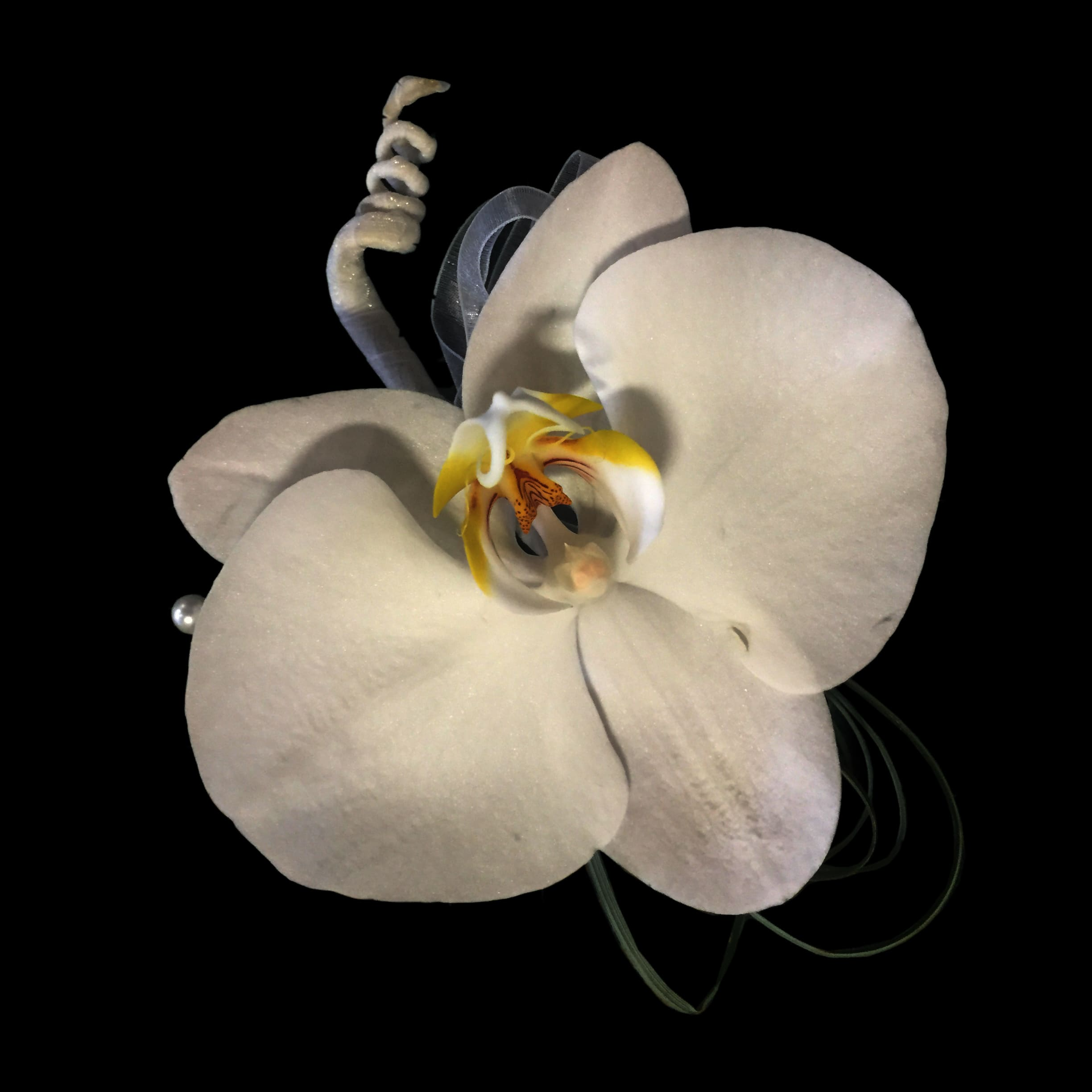 Pin On Corsage Or Boutonniere Made Of Phalaenopsis Orchids By