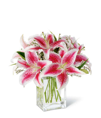 Stargazer Lily Bouquet In Fort Lauderdale Fl Dgm Flowers Events
