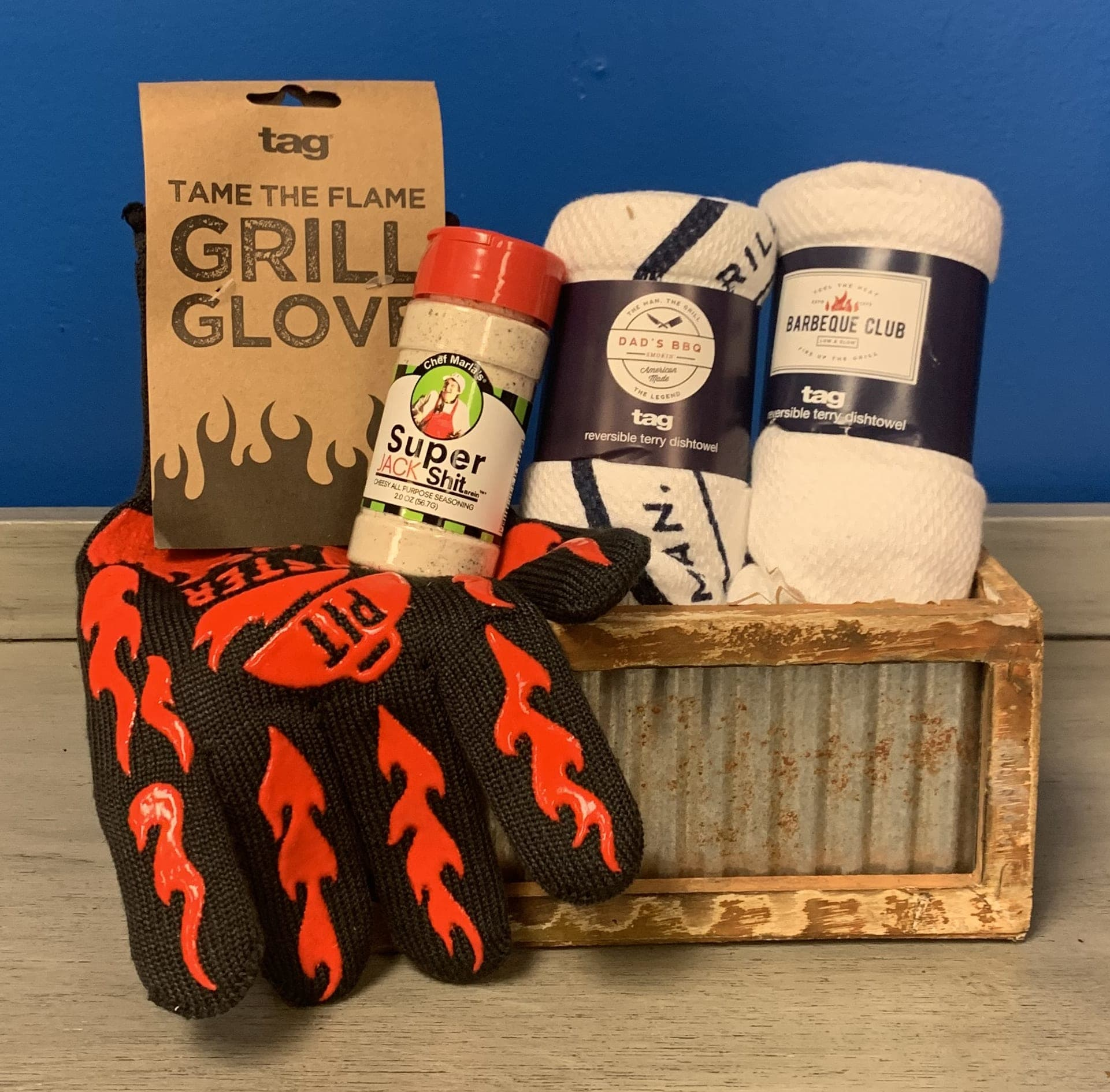 Day BBQ KIng Gift Basket in Aitkin, MN