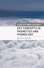 Key Concepts in Phonetics and Phonology cover