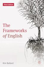 The Frameworks of English cover