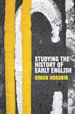 Studying the History of Early English cover