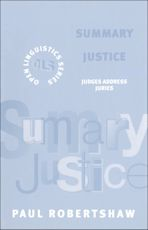 Summary Justice cover