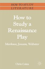 How to Study a Renaissance Play cover