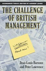 The Challenge of British Management cover