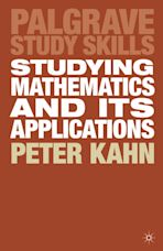 Studying Mathematics and its Applications cover