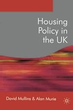 Housing Policy in the UK cover